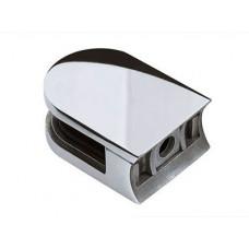Стеклодержатель штампованный под круглую трубу Фурнитура для ограждений